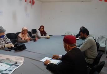 جلسة عمل مع أعضاء المجلس البلدي