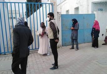حملة توعوية في مركز البريد ببوشمة