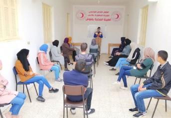تكوين المتطوعين في حملات التعقيم و نشر التوعية